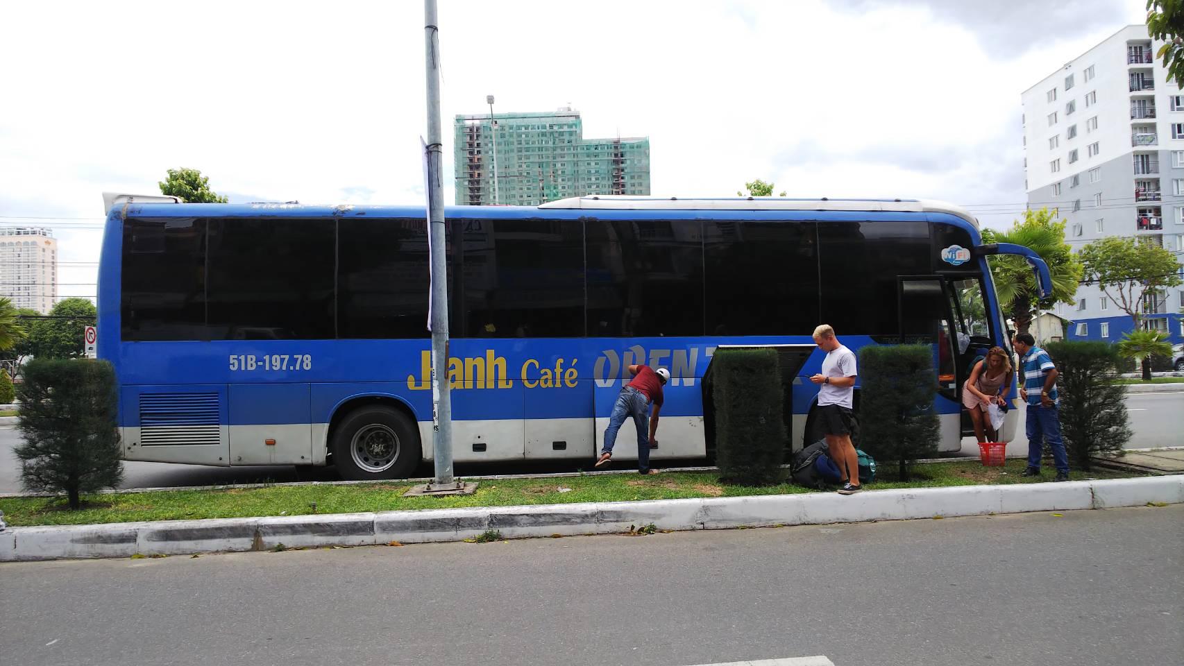 ベトナム縦断(ホーチミン→ハノイ)のオープンバスの徹底解説!