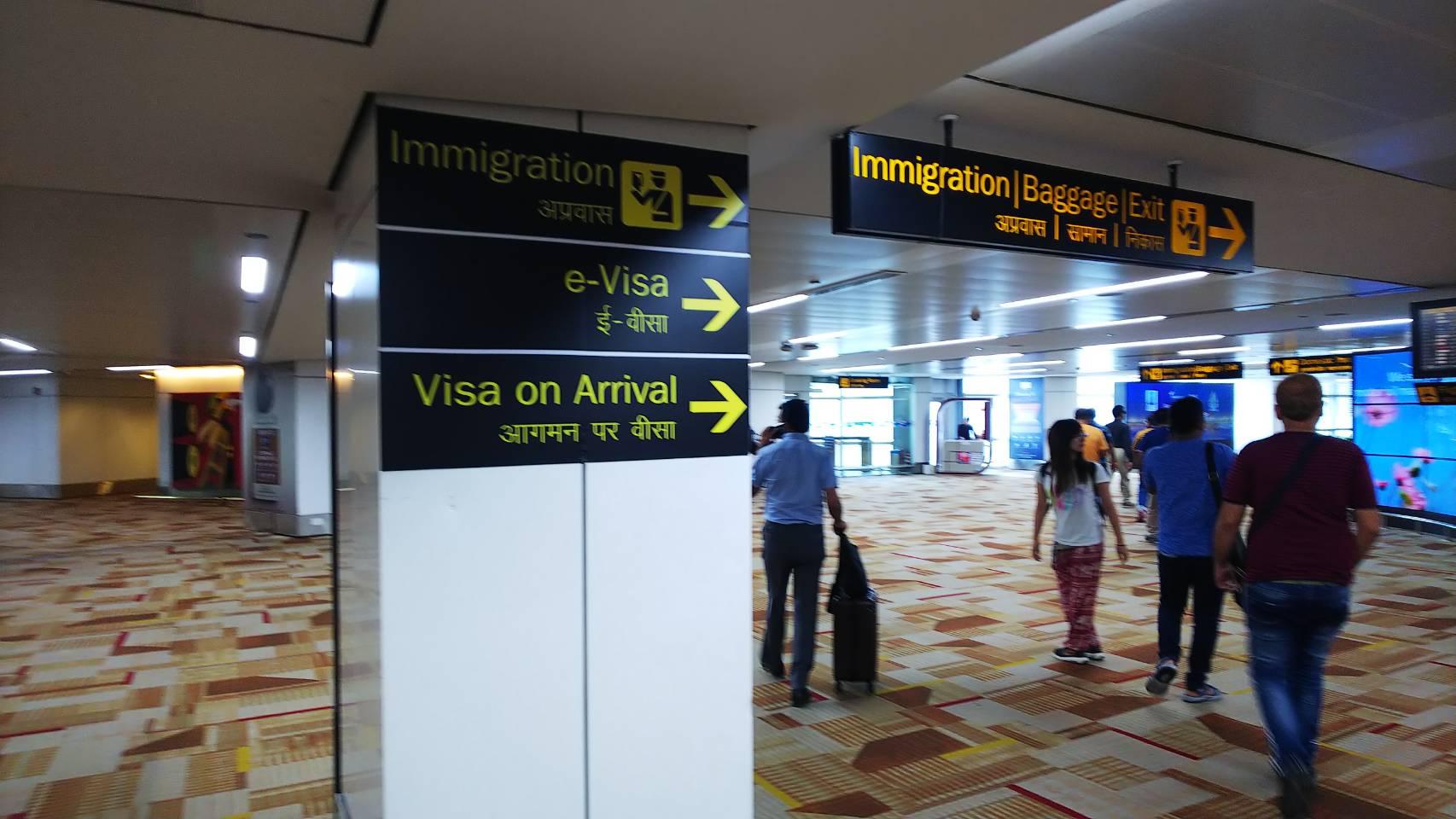 インドのデリー空港でアライバルビザの取得方法の徹底解説!