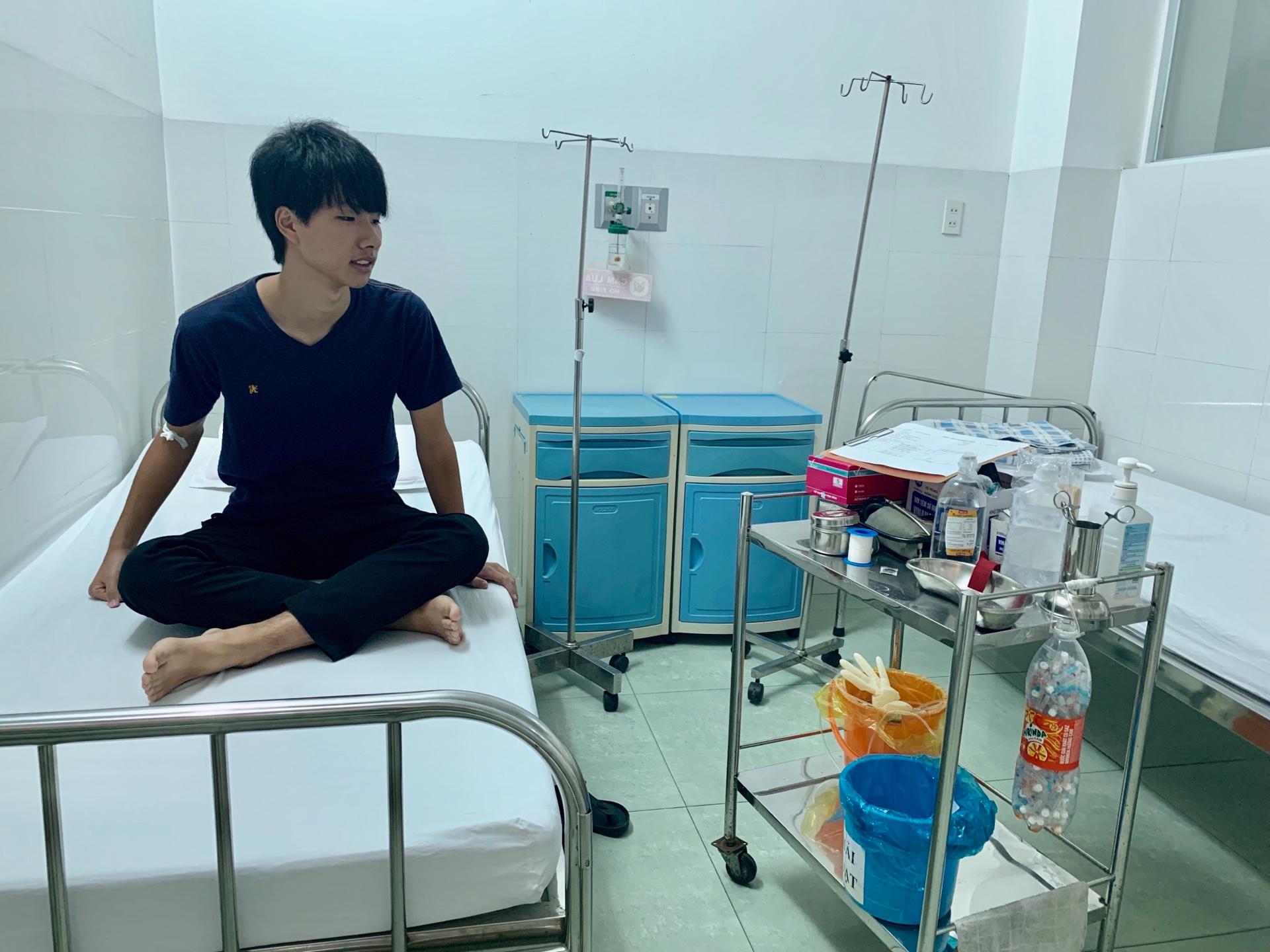 ニャチャンで入院決定、原因は蚊!?