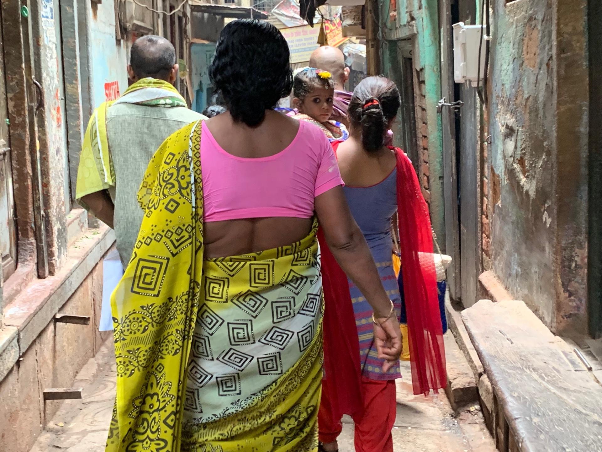 インドを知った日。バラナシの観光!