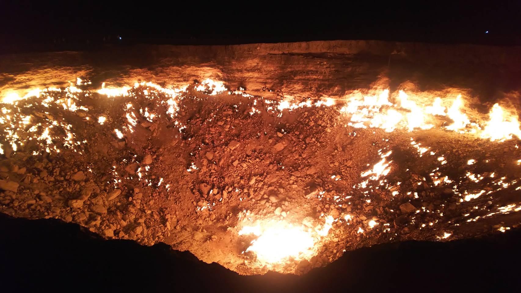 ウルゲンチ(ヒヴァ)からダルヴァサ(地獄の門)までの行き方とダルヴァサの宿情報のご紹介