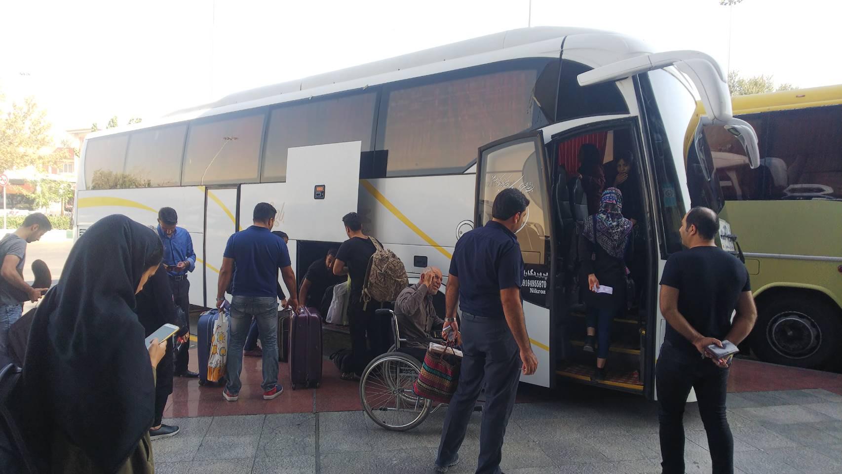 テヘランからシーラーズ(イスファハーン)へのバスでの行き方の徹底解説!