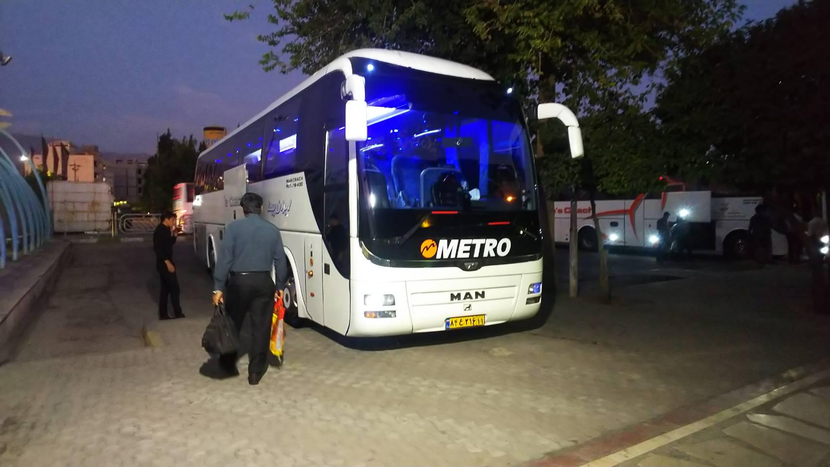シーラーズからテヘランへのバスでの行き方の徹底解説!