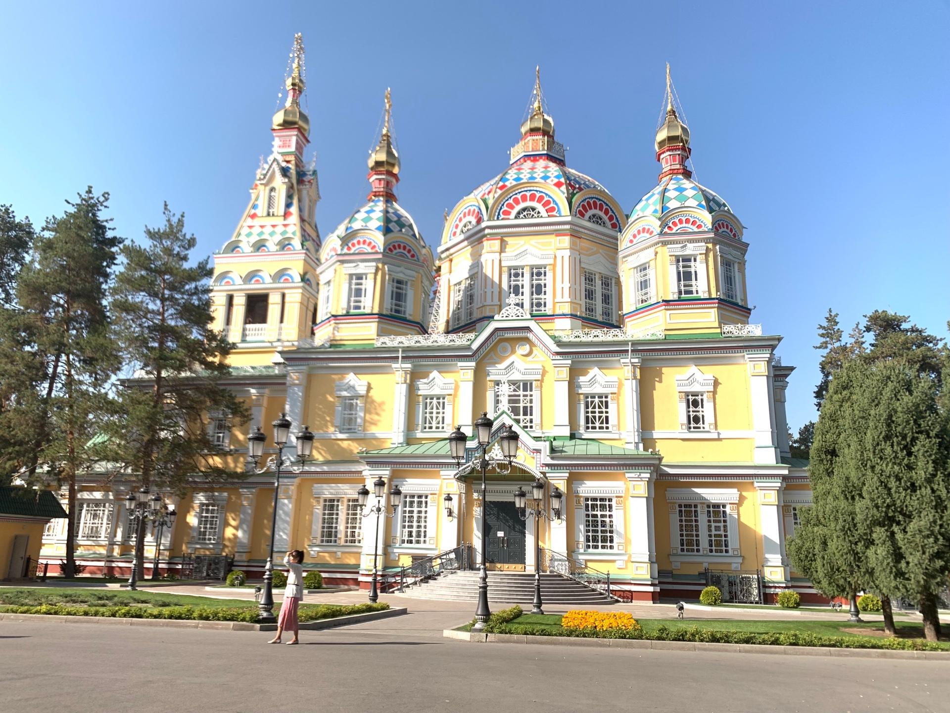 アルマトイ街ブラ!動物園、グリーンバザール、ゼンコフ教会まで盛り沢山!