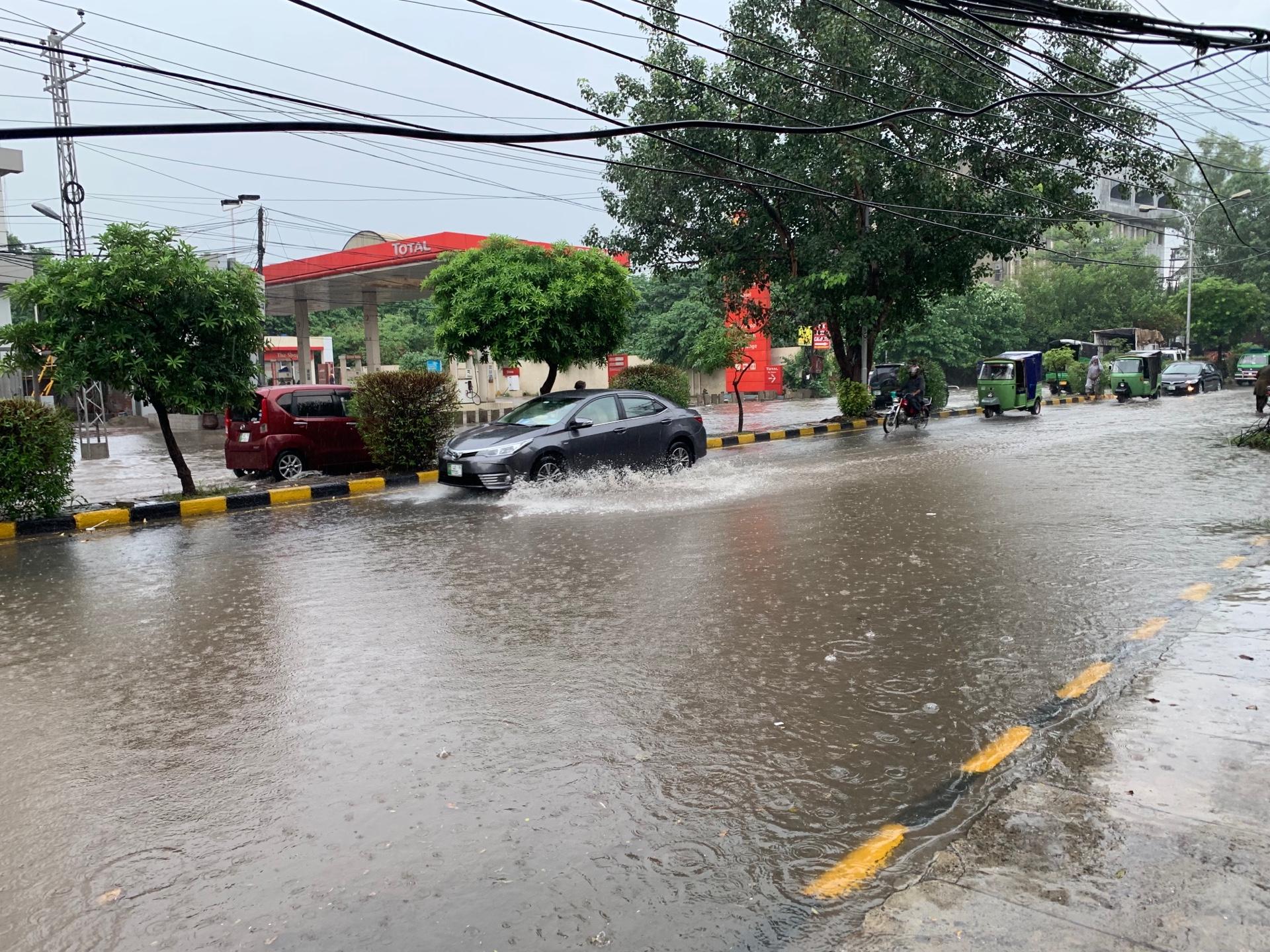 ラホールの洪水