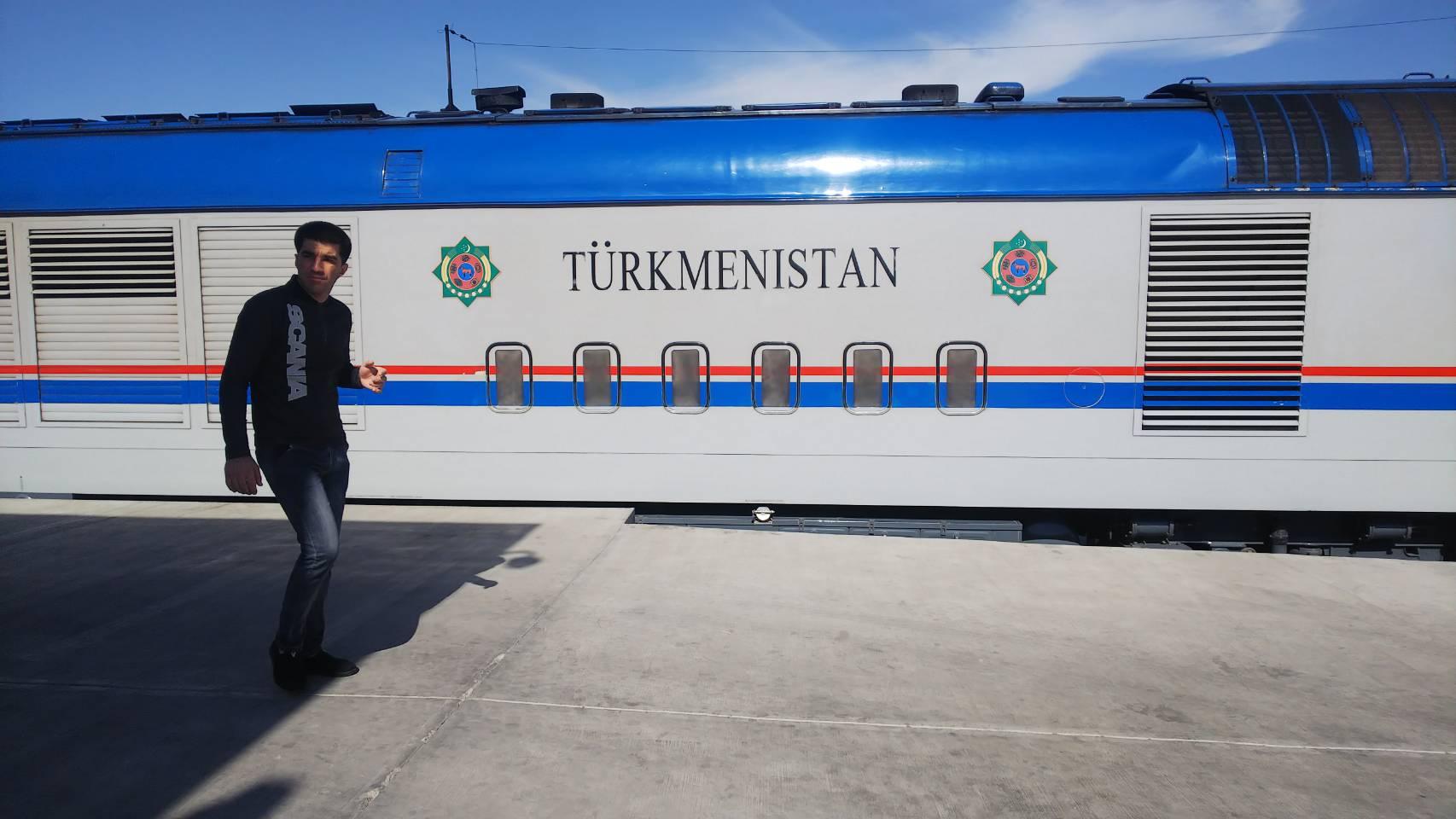 休むこともなく泊まることもなくトルクメニスタンの移動!