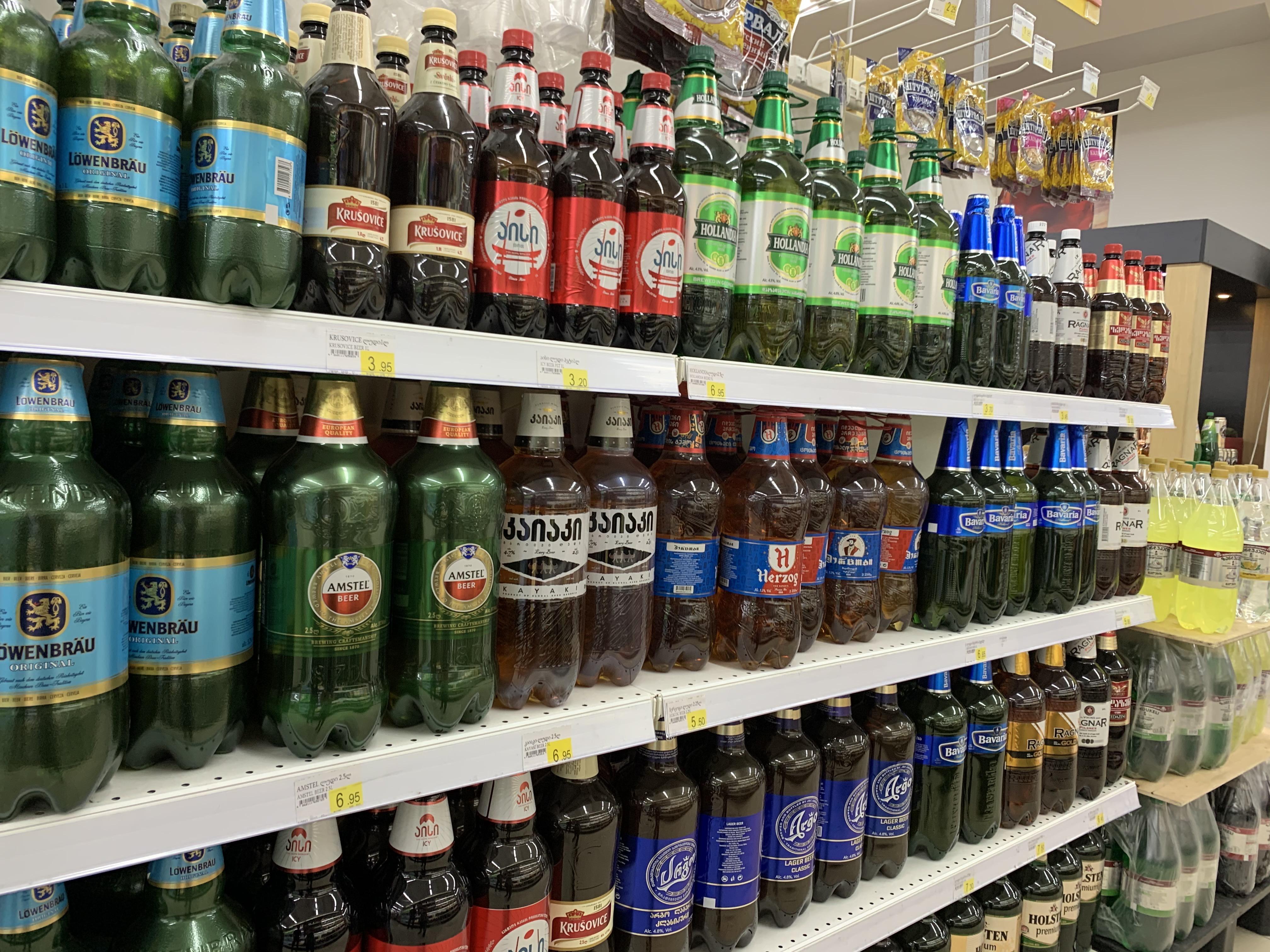 トビリシのスーパーマーケットの紹介と絶品シュクメルリ