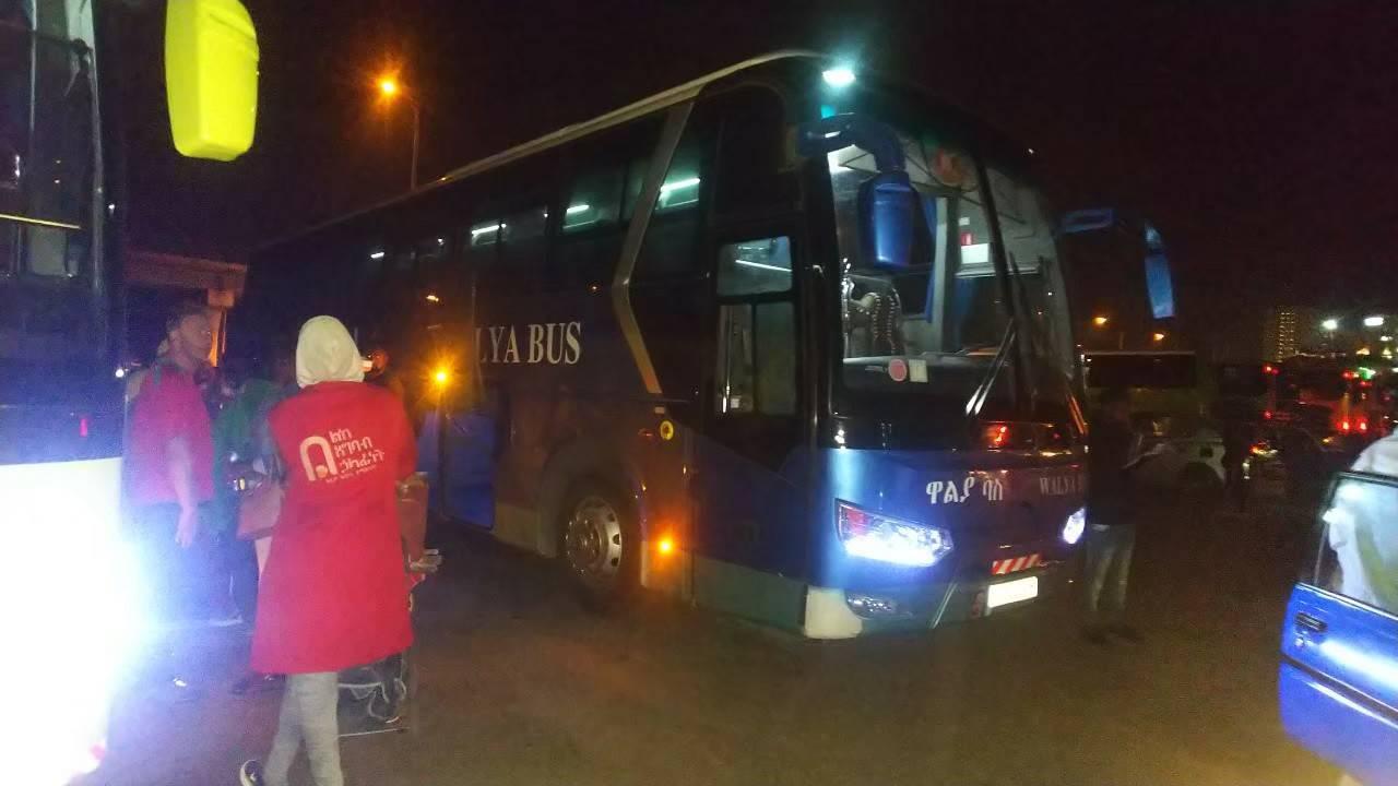 エチオピアの過酷なバス移動のはずが⁉