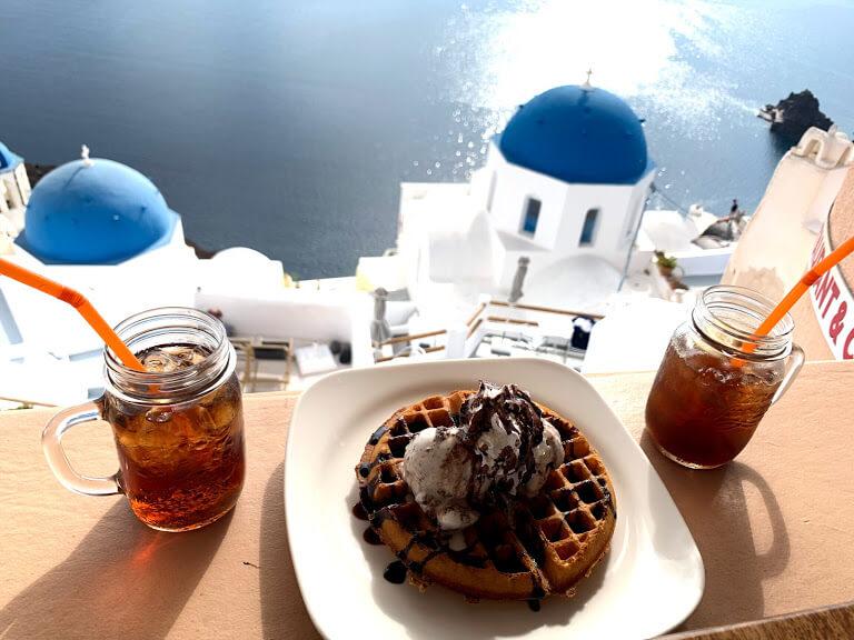 もはやハネムーン⁉ 大満足のサントリーニ島