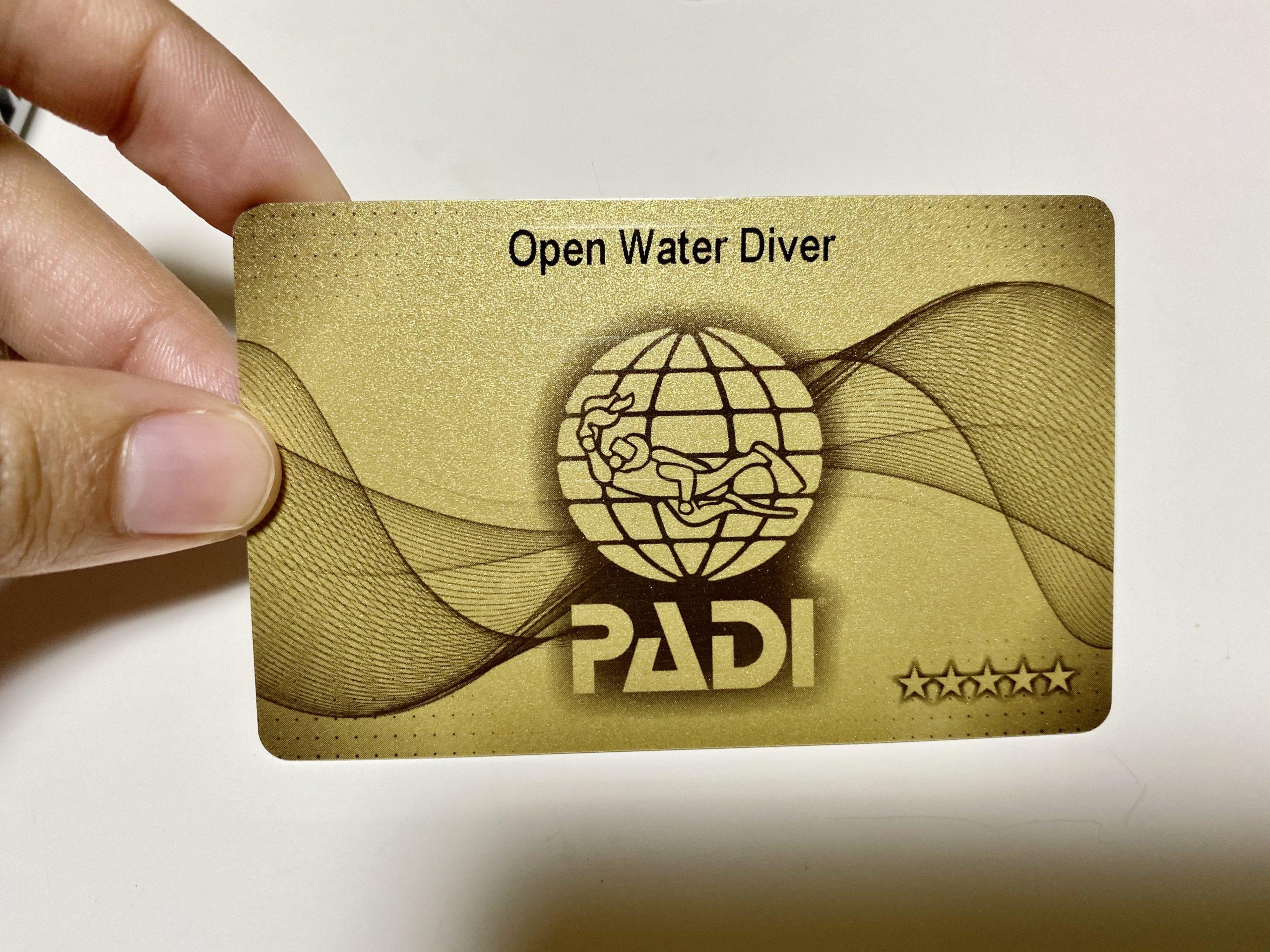 【ダイビング】ダハブでついにライセンス取得!