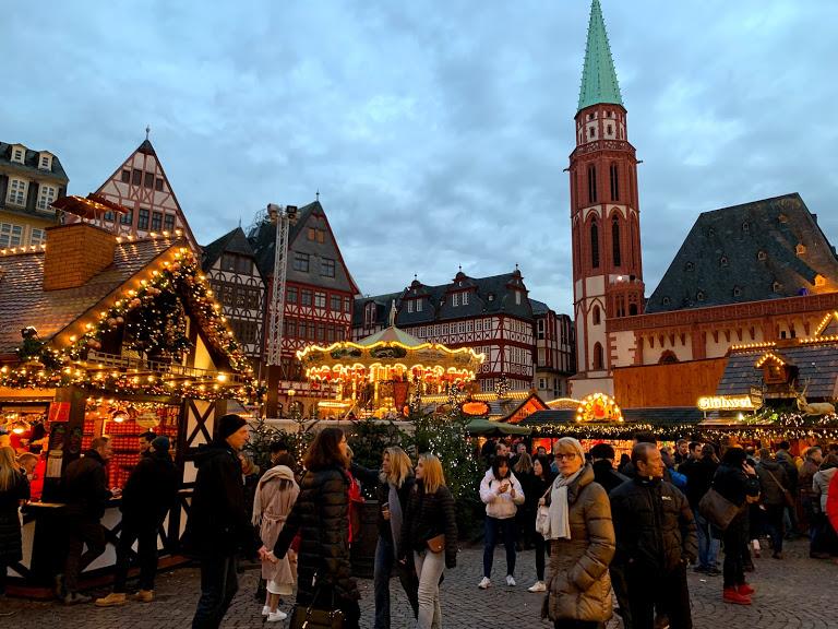 フランクフルトでクリスマスマーケットに行ってきた!