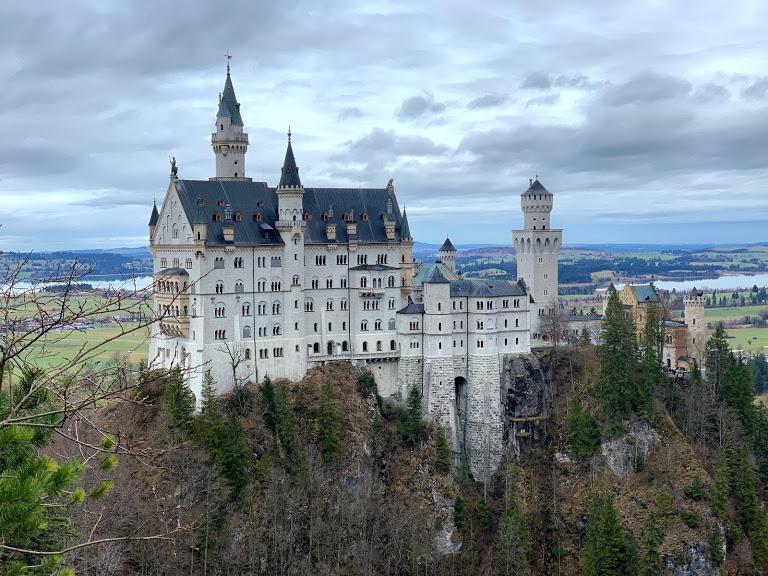 シンデレラのお城、美しきノイシュバンシュタイン城