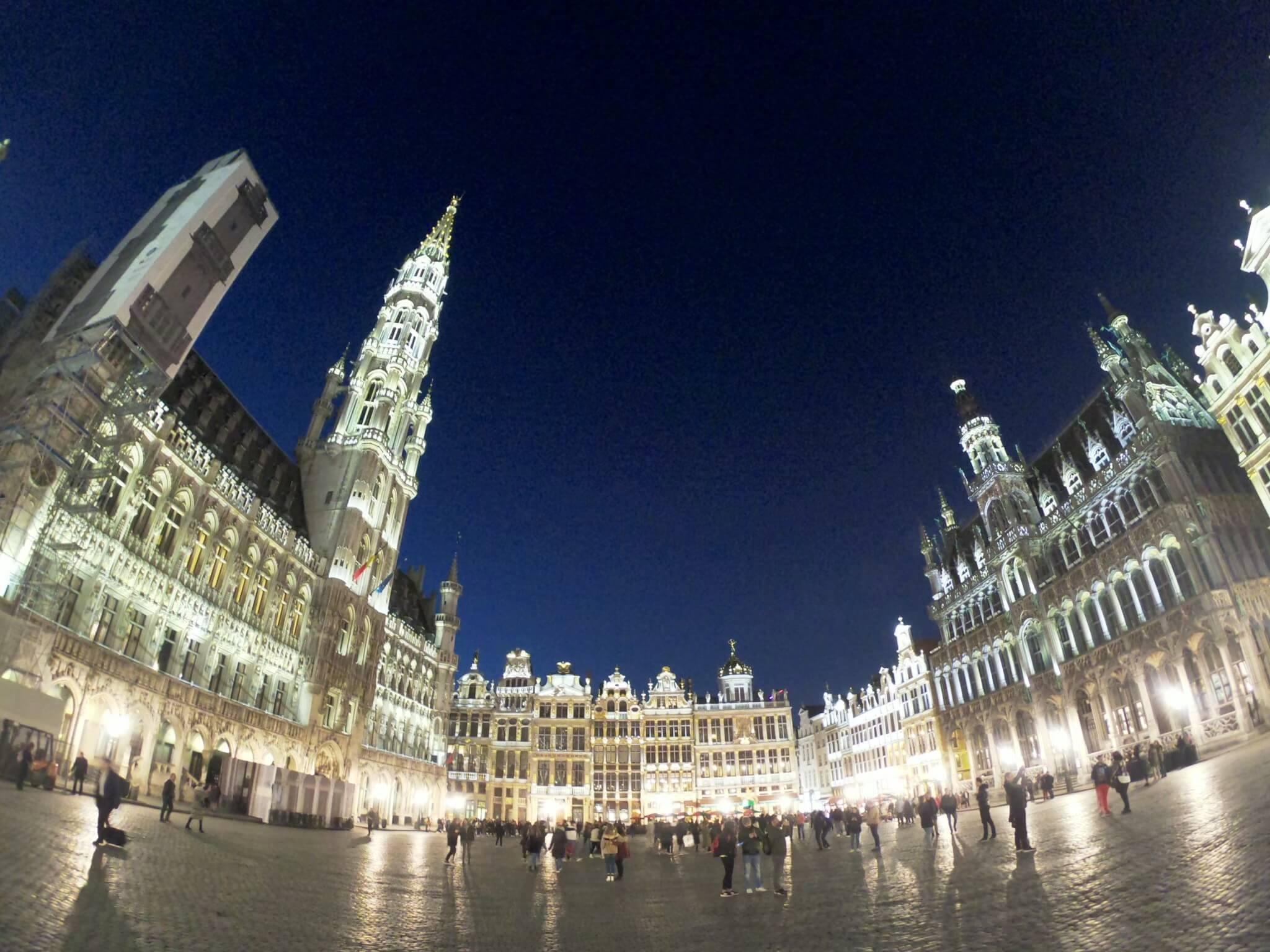 ベルギーの古都ブルージュの観光!