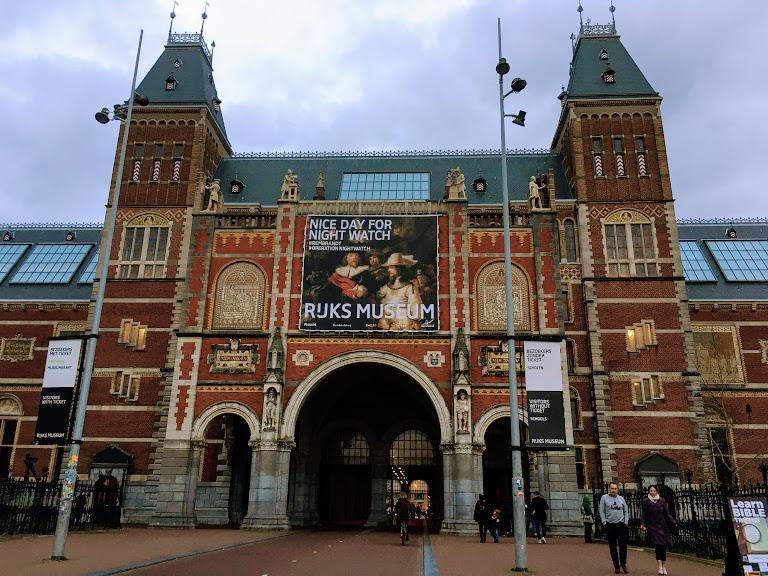 【プレハネ40カ国目】オランダ「アムステルダム国立美術館」は名画の宝庫!