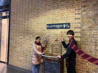 ハリーポッターのロケ地!キングスクロス駅!